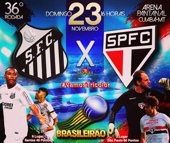 Santos x São Paulo